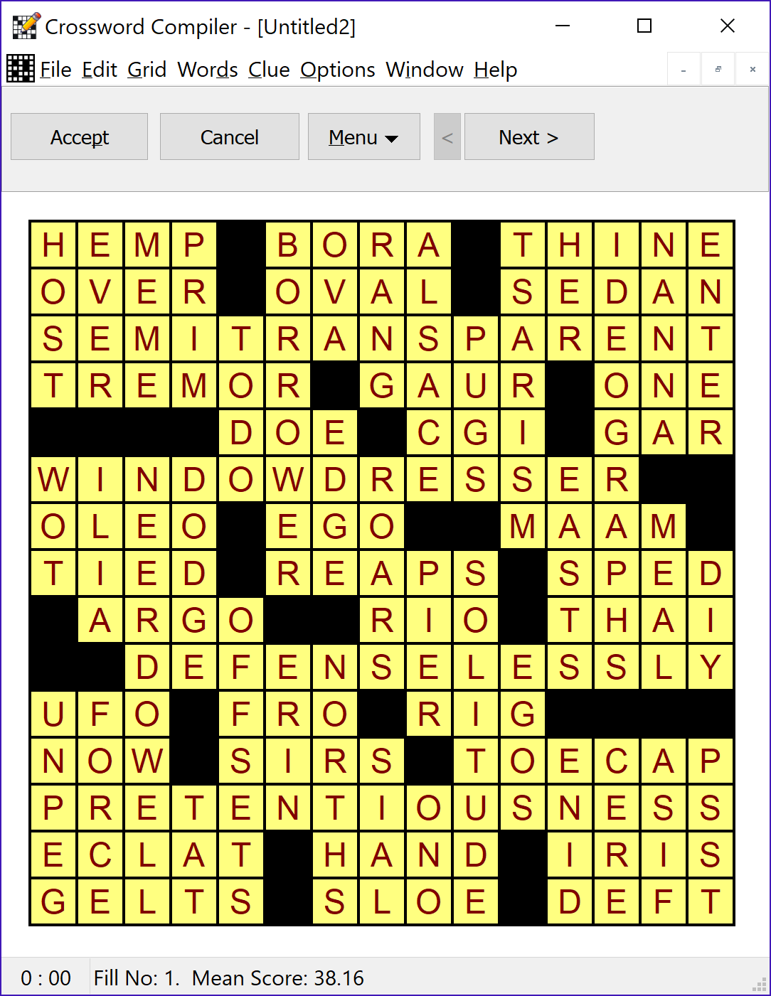 Crossword compiler features filling a grid solutioingenieria Choice Image