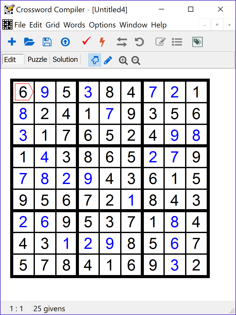 Crossword Compiler: Features
